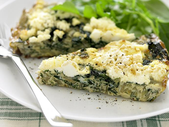 """**[Silverbeet frittata](https://www.womensweeklyfood.com.au/recipes/silverbeet-frittata-23671