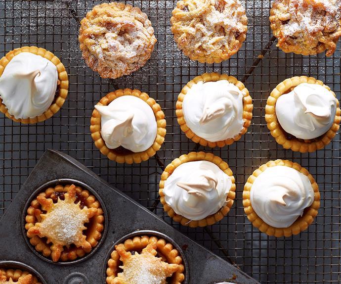 Mince pies three ways