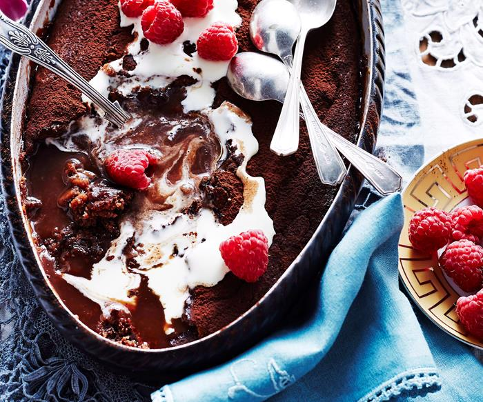 Self-saucing pudding recipes