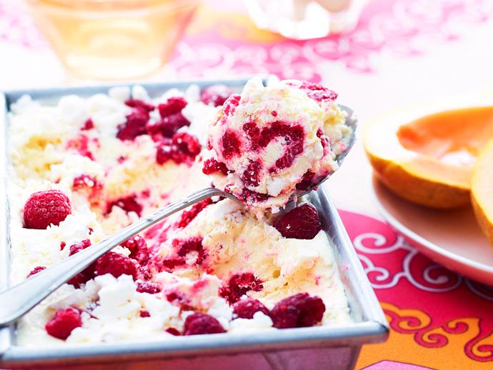 "[Papaya with raspberry meringue ice-cream](https://www.womensweeklyfood.com.au/recipes/papaya-with-raspberry-meringue-ice-cream-23806|target=""_blank"")"