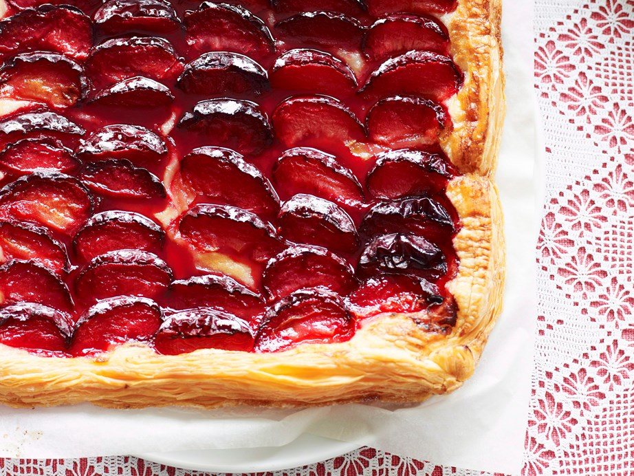 """**[Quick and easy plum tart](https://www.womensweeklyfood.com.au/recipes/quick-and-easy-plum-tart-27114
