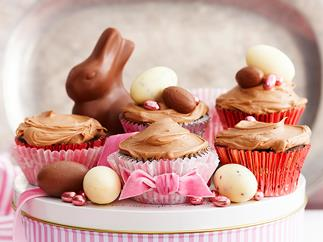 Quick-mix chocolate cupcakes