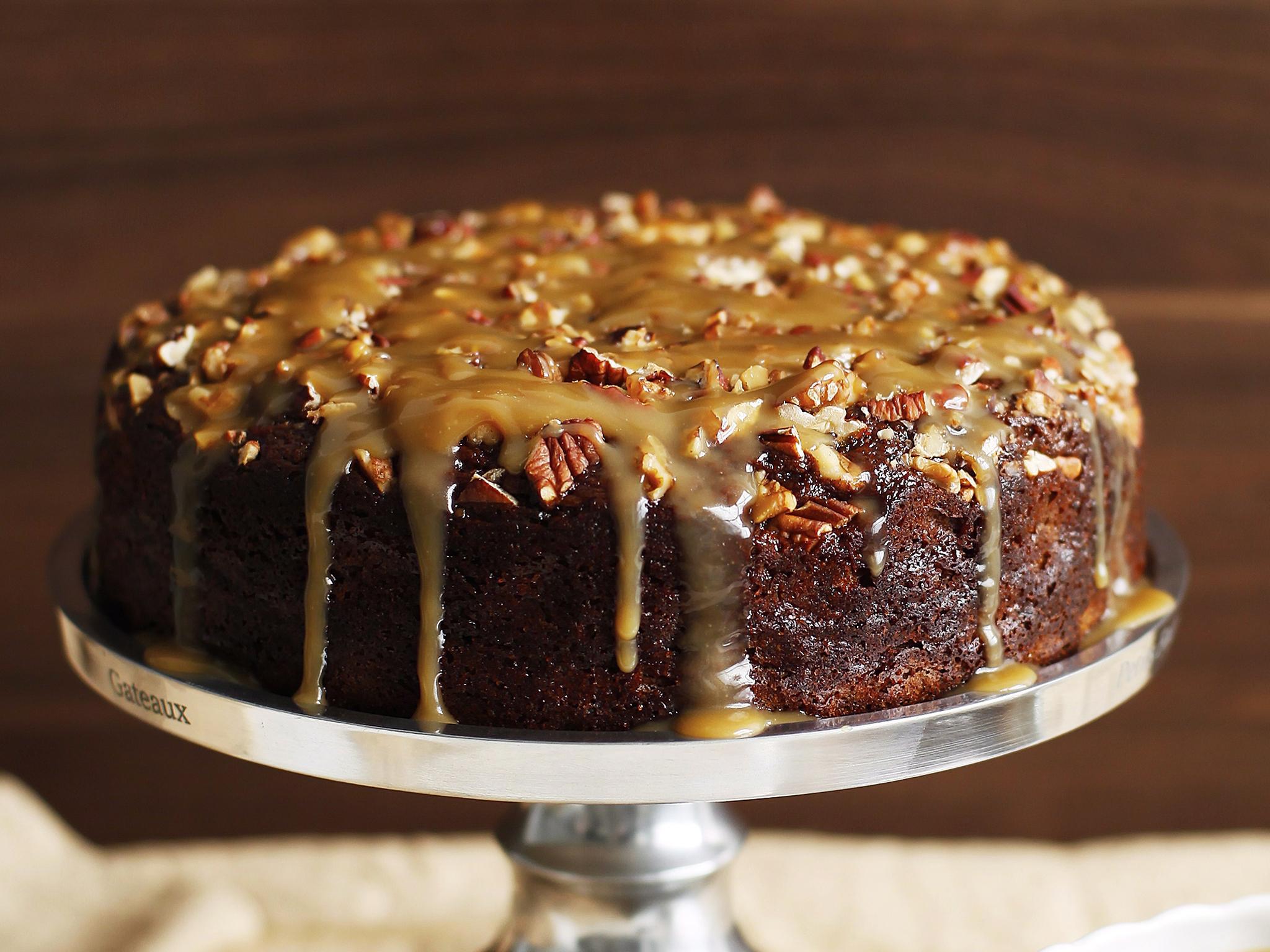 Sticky Rum Cake Recipe