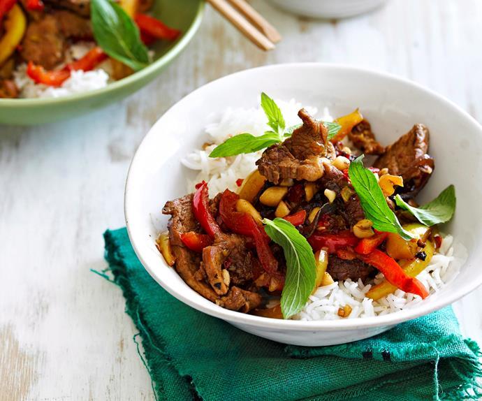 Vietnamese pork stir-fry