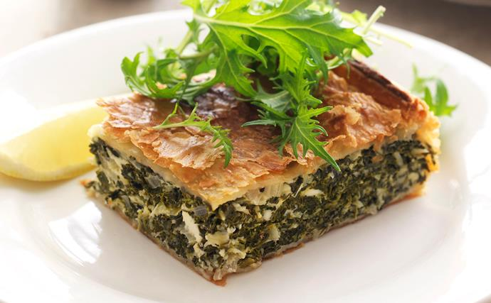 Astrid's Spinach Pie