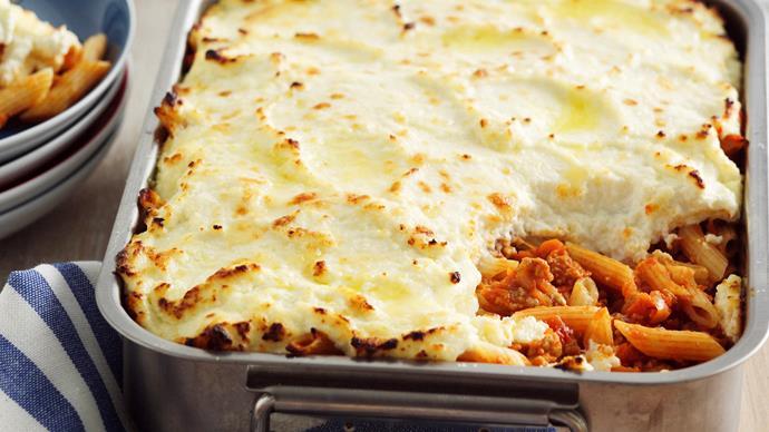 Baked Bolognese Pasta
