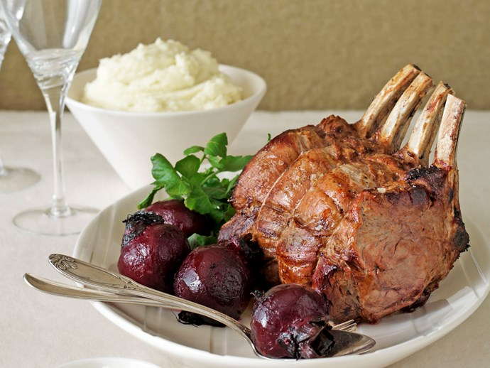 [Beef rib roast with potato puree and roasted beetroot](http://www.foodtolove.com.au/recipes/beef-rib-roast-with-potato-puree-and-roasted-beetroot-4791).