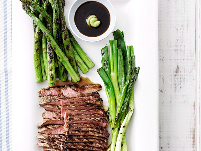 "Try it: [Beef teriyaki platter with asparagus recipe](http://www.foodtolove.com.au/recipes/beef-teriyaki-platter-with-asparagus-4792|target=""_blank"")."