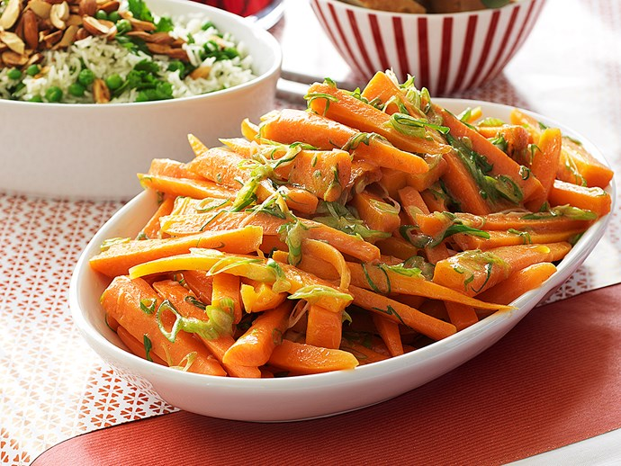 CARROTS WITH SPICED BUTTER