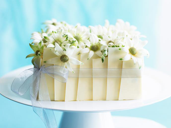 """Jazz up a special occasion with this sweet and creamy [passionfruit sponge cake](https://www.womensweeklyfood.com.au/recipes/celebration-passionfruit-sponge-27463