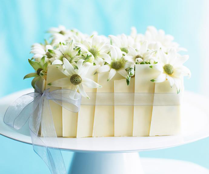 celebration passionfruit sponge