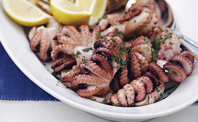 greek octopus recipe