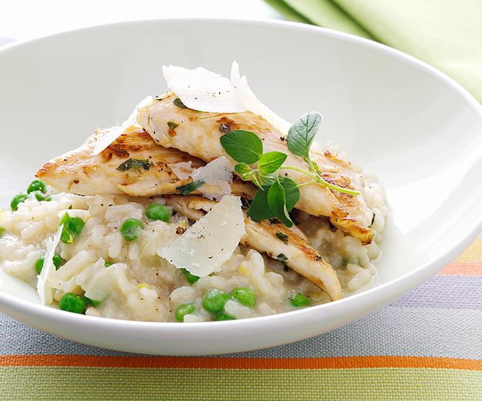 Chicken and Lemon Rissotto