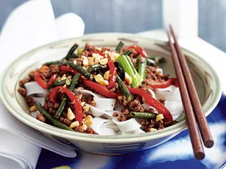 Chilli Garlic Mince with Snake Beans