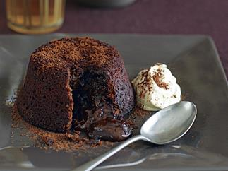 Chocolate Volcano Puddings