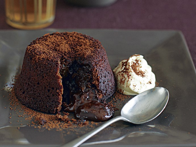 Chocolate Volcano Puddings