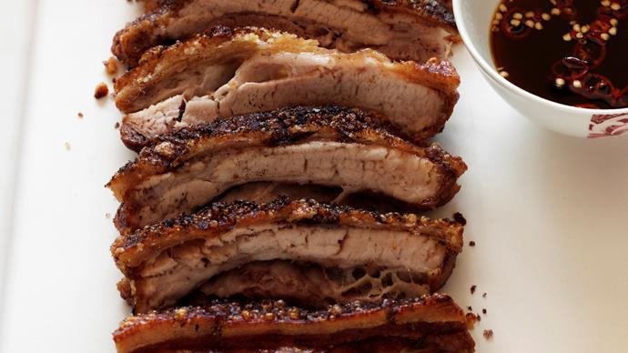 Crisp Five-Spice Salt Belly Pork