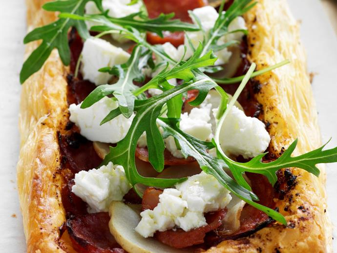 """**[Easy chorizo and feta pastries](https://www.womensweeklyfood.com.au/recipes/easy-chorizo-and-feta-pastries-27178