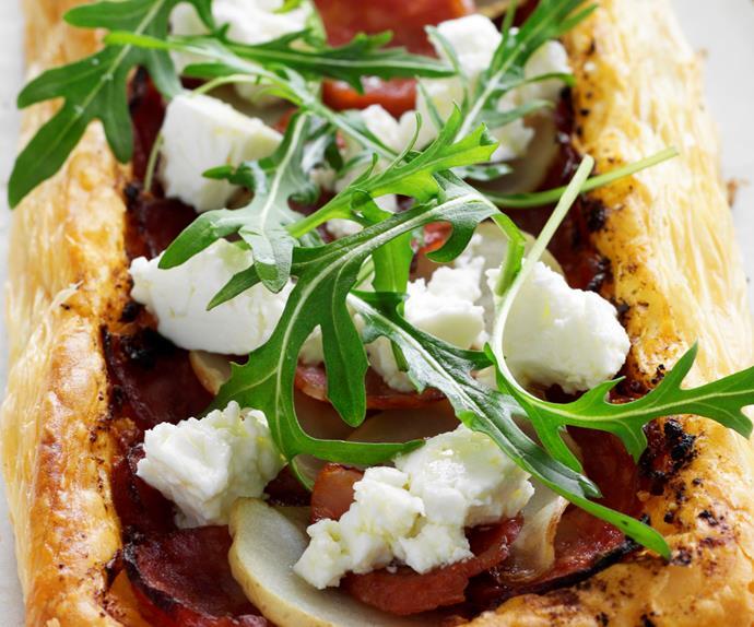 Easy Chorizo and Fetta Pastries