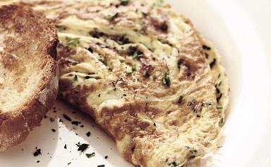 Fine herbs omelette