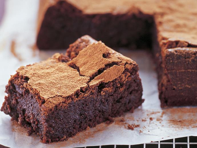 "**[Flourless hazelnut chocolate cake](https://www.womensweeklyfood.com.au/recipes/flourless-hazelnut-chocolate-cake-26554|target=""_blank"")**  Serve this versatile fudge-like chocolate cake as a dessert with ice-cream, for morning or afternoon tea, or freeze in slices to pop into a work or school lunchbox."