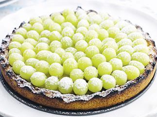 Grape Tart (Crostata D'uva)
