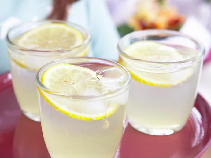 "**[Homemade lemonade:](https://www.womensweeklyfood.com.au/recipes/homemade-lemonade-recipe-23883|target=""_blank"")** When life give you lemons bust out this delicious homemade lemonade recipe – a refreshingly simple beverage that always goes down a treat."