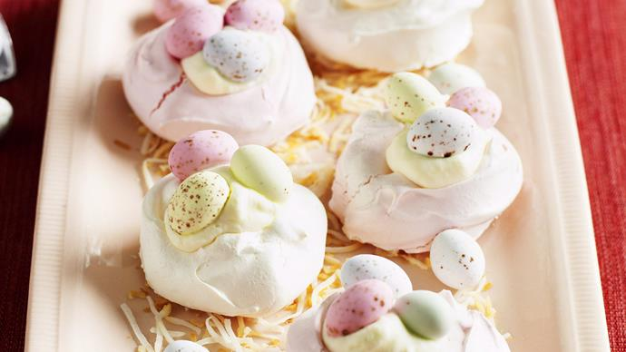 mini meringue nests