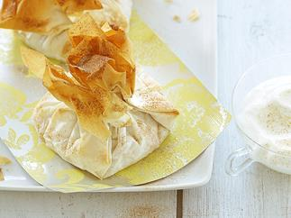 Mixed Fruit, Ricotta and Almond Parcels