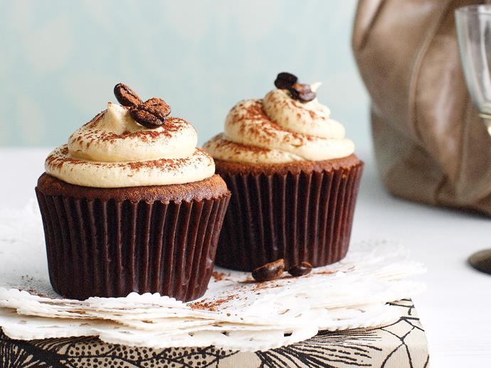 "**[Mocha cupcakes](https://www.womensweeklyfood.com.au/recipes/mocha-cupcakes-23910|target=""_blank"")**  Adorable chocolate cupcakes with a hint of coffee and a gorgeous swirl of coffee buttercream for the coffee lover in your  life."