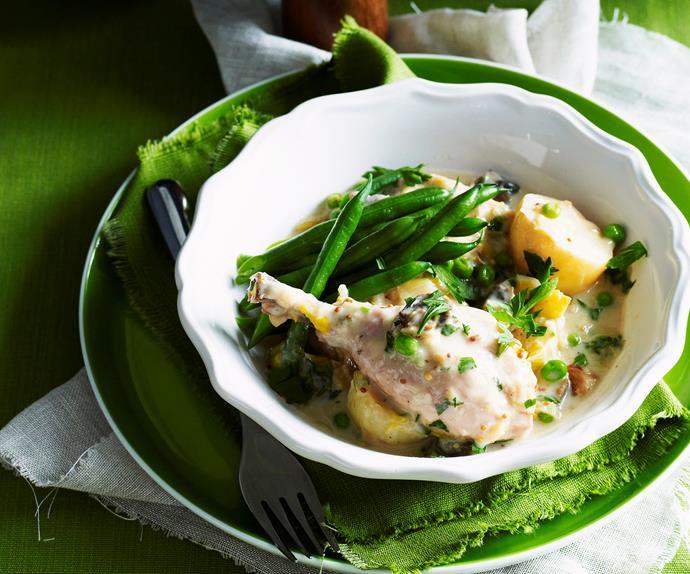 mustard chicken casserole