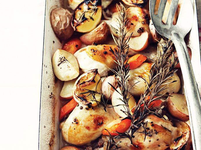 """**[Nan's lemon chicken](https://www.womensweeklyfood.com.au/recipes/nans-lemon-chicken-27460