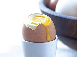 Perfect Boiled Eggs With Spiced Salt
