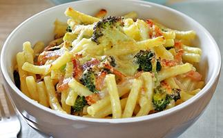 Quick Bacon and Cheese Macaroni