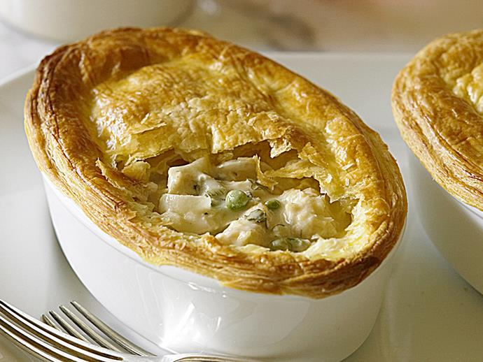 """**[Snapper and fennel pie](https://www.womensweeklyfood.com.au/recipes/snapper-and-fennel-pie-26626