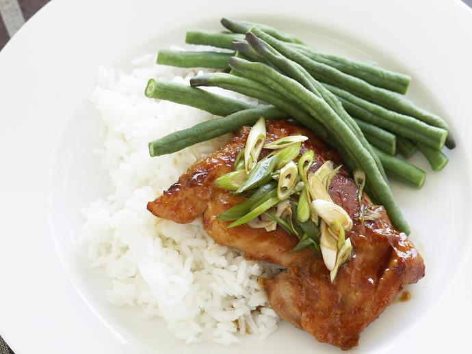 "**[Hoisin chicken](https://www.womensweeklyfood.com.au/recipes/hoisin-chicken-27846|target=""_blank""):** With tender chicken thigh fillets, this sticky sweet recipe will satisfy even the most fussy eaters."