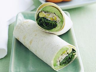 Tuna and Sweet Corn Crisp Wrap