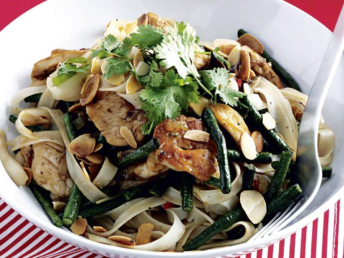 """**[Vietnamese chicken noodle stir-fry](https://www.womensweeklyfood.com.au/recipes/vietnamese-chicken-noodle-stir-fry-26641