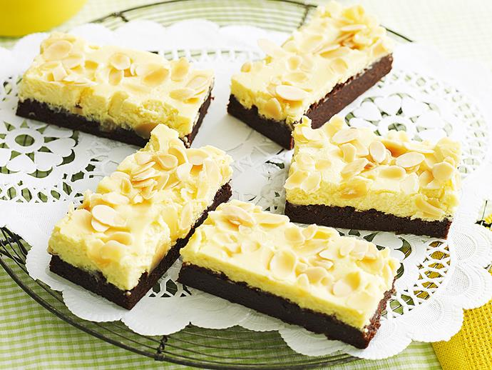"**[Cheesecake brownies](https://www.womensweeklyfood.com.au/recipes/cheesecake-brownies-23338|target=""_blank"")**  Pairing two of our favourite desserts, rich and creamy cheesecake and decadent chocolate brownies, this dessert recipe is sure to please any sweet tooth. Make a batch to share with your loved ones this weekend."