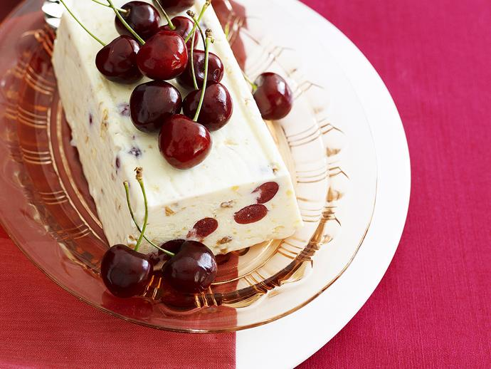 """**[Cherry and nougat torrone](https://www.womensweeklyfood.com.au/recipes/cherry-and-nougat-torronata-28406