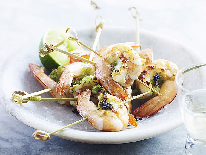 "These [prawn skewers](https://www.foodtolove.co.nz/recipes/lemongrass-prawn-skewers-29007|target=""_blank"") are given a light and delicate citrus flavour from lemongrass."