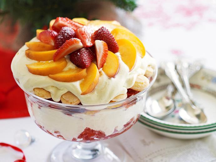 "**[Summer trifle](https://www.womensweeklyfood.com.au/recipes/summer-trifle-25468|target=""_blank"")**"