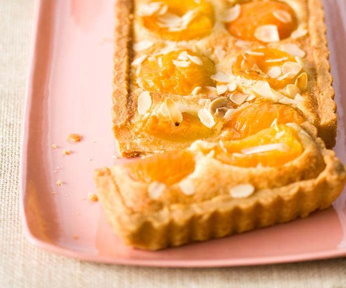 Ripe for the Picking - Apricot and Almond Tart