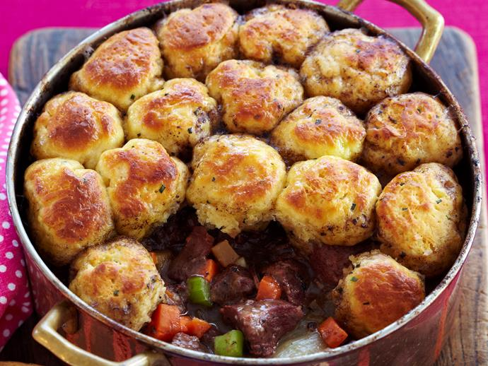 "[Classic lamb stew with dumplings](http://www.foodtolove.com.au/recipes/classic-lamb-stew-with-dumplings-7700 target=""_blank"")"
