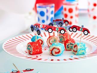 Fairy bread wheels