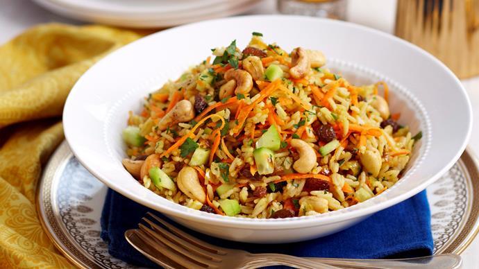 Indian rice salad