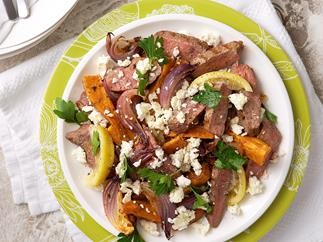 Lamb and kumara salad