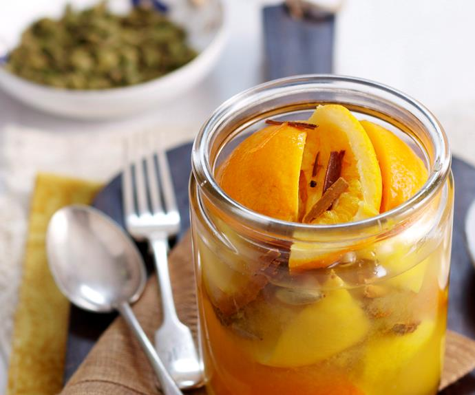 Preserved lemon and orange