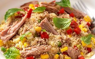 Tuna couscous salad