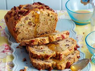 Zucchini and pecan loaf